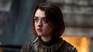 maisie williams arya stark 300x169 - Atriz revela o mês que estreará a última temporada de Game of Thrones