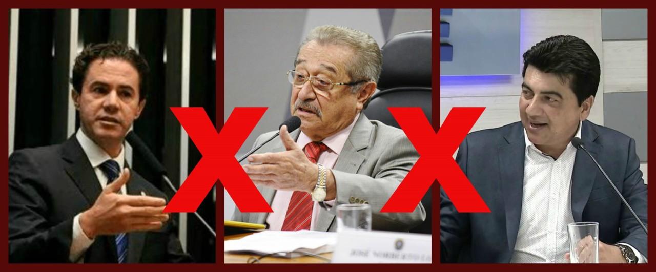 O PMDB ESTÁ TRIPARTIDO: As três alas que racharam a legenda na PB – Por Leandro Borba