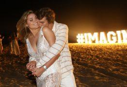Sasha e novo namorado trocam carinhos e declarações em rede social