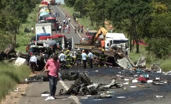 REPORTAGEM DO FANTÁSTICO – O trágico acidente que matou dez paraibanos na madrugada de sábado – VEJA VÍDEO