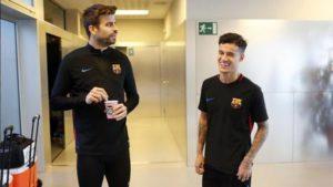xphilippe coutinho 3.jpg.pagespeed.ic .jKfox41Nu  300x169 - Coutinho ganha selfie com o ídolo Iniesta no seu primeiro dia no Barcelona
