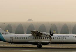 Avião com 65 a bordo cai no Irã