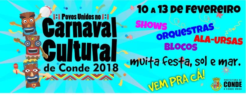 CONDES - Carnaval em Jacumã promete mistura de ritmos e muita diversidade cultural