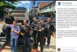 VEJA VÍDEO: Bolsonaro pediu um fuzil para revidar contra os bandidos ao ser recebido a tiros em Cidade de Deus? Entenda caso