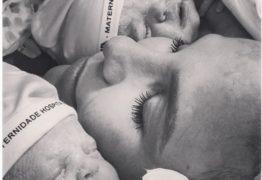 'Felicidade não cabe dentro de mim', diz Ivete após nascimento das gêmeas