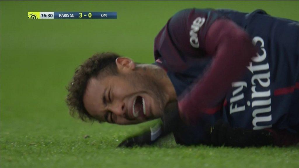 lesao neymar 1024x576 - Sem Neymar, PSG e Real decidem vaga na Liga dos Campeões