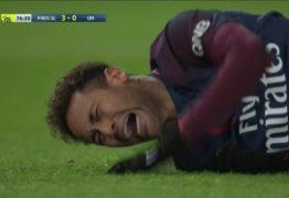 Preparador físico vê 'lado bom' em lesão de Neymar