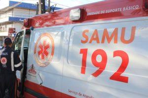 samu ambulancia foto walla santos 300x200 - Acidente envolvendo moto e cavalo mata irmão de radialista de Sousa