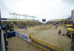 Presente em todas as edições do Circuito, PB recebe uma etapa do Circuito Brasileiro de Vôlei de Praia