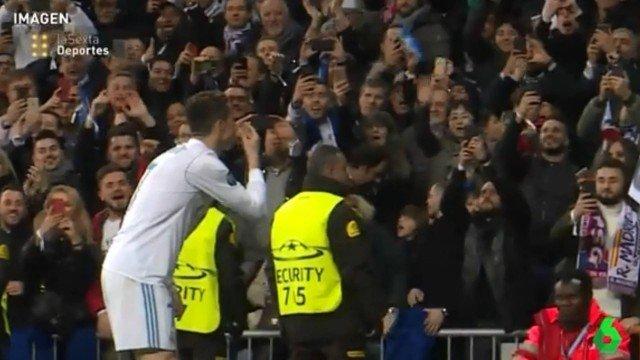 Cristiano Ronaldo fez gesto polêmico em comemoração de gol pelo Real Madrid
