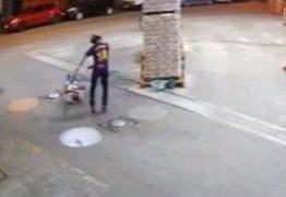 VEJA VÍDEO: Segurança morre com 5 tiros em seu primeiro dia de trabalho