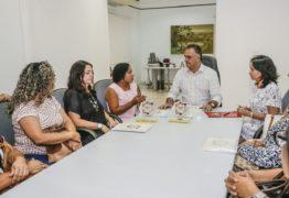 Cartaxo recebe diretoras de creches premiadas pelo MEC pela qualidade da política nutricional da PMJP