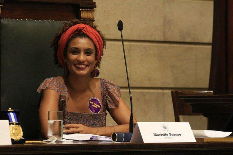 Mulheres do PSOL lamentam morte da vereadora Mariele Franco, morta a tiros no Rio de Janeiro