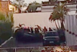 AMOR DROGADO: homem surta no Motel Veraneio capota o carro e sobe na caixa d'água – VEJA VÍDEO