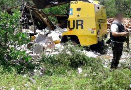 VEJA VÍDEO:  Assaltantes explodem carro-forte em rodovia da Paraíba