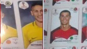 cr7 e neymar 300x168 - Neymar e Cristiano Ronaldo na Copa: vazam figurinhas dos craques no álbum