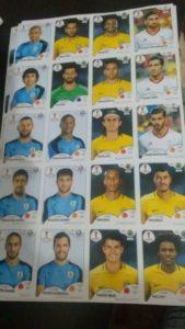 figurinhas selecao 169x300 - Neymar e Cristiano Ronaldo na Copa: vazam figurinhas dos craques no álbum