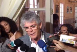 'EU NÃO ME PREOCUPO COM QUEM VAI SER CANDIDATO CONTRA A GENTE', dispara Ricardo Coutinho sobre oposição