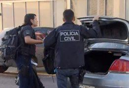 OPERAÇÃO VULCANO: Polícia da PB cumpre mandados de prisão contra quadrilha suspeita de roubos de veículos