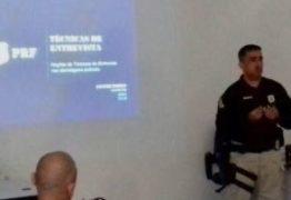 PRF ministra capacitaçãoe treinamento paraa Polícia Militar da Paraíba