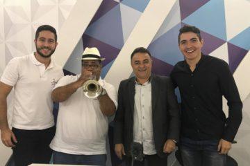 VEJA VÍDEO: Gutemberg Cardoso entrevista músicos do grupo Rubacão Jazz
