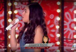 THE VOICE KIDS: Eduarda Brasil empolga com 'Frevo Mulher' e canta 'Chorando se Foi' com Simone e Simaria
