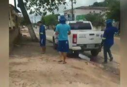 UM GATO MOLHADO: Cagepa flagra desvio de água de Prefeitura para casa de vereador do Vale do Mamanguape