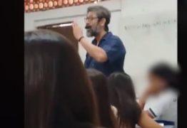 Discussão entre professor e aluno vai parar nas redes sociais e termina em ameaças