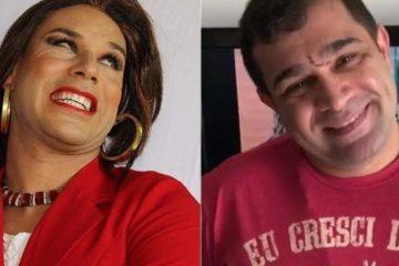 Humoristas Tiago Barnabé e Evandro Santo sofrem acidente de carro
