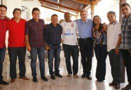 Raimundo Lira tem agenda com Hugo Mota no Sertão paraibano