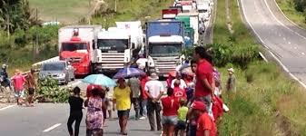 protesto MST - Trabalhadora do MST é baleada durante protesto na Paraíba