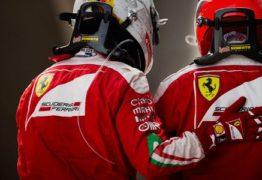 Ferrari domina treinos classificatórios no GP da China e garante a primeira fila