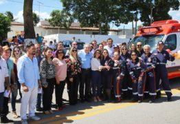 Senador Raimundo Lira participa de entrega de ambulâncias em Mamanguape