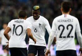 Fifa multa Rússia por cânticos racistas de torcedores contra jogadores da França