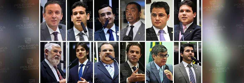 32239733 1734531496661864 3193199947105173504 n 1 - ENQUETE: entre os 12 deputados federais paraibanos em quem você NÃO votaria se a eleição fosse hoje?
