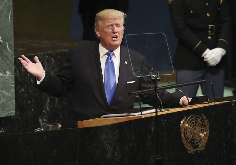 636414404495846594 - Trump retira Estados Unidos do acordo nuclear com Irã