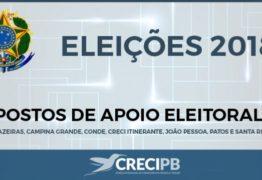 Postos eleitorais facilitarão votação de corretores para nova composição do Creci-PB