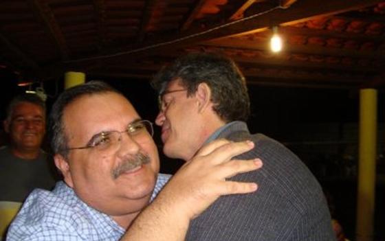 Ricardo Coutinho e Rômulo - Governador Ricardo Coutinho decreta luto oficial de três pelo falecimento de Rômulo Gouveia