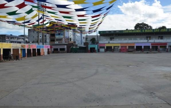 Sem título 9 - CAMPINA GRANDE: estrutura do Maior São João do Mundo já está pronta
