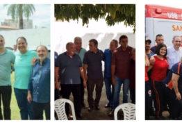 CADA UM POR SI: Lucélio, Cássio e Lira em carreira solo no dia do Trabalhador – VEJA AS FOTOS