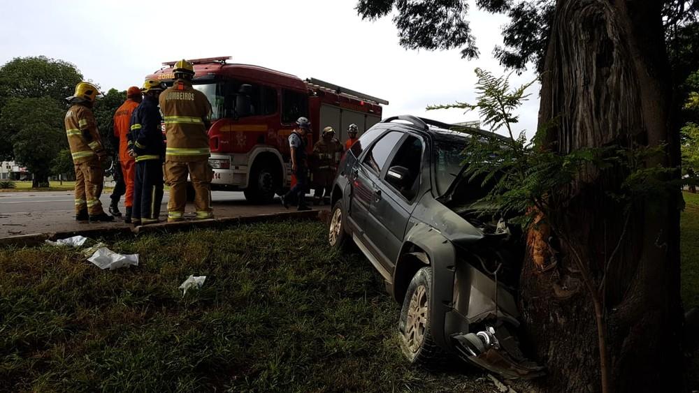 acidente1 - Neta e bisneta do médium João de Deus sofrem acidente de carro