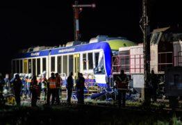 GRAVE ACIDENTE: Colisão entre trens deixa mortos no sul da Alemanha