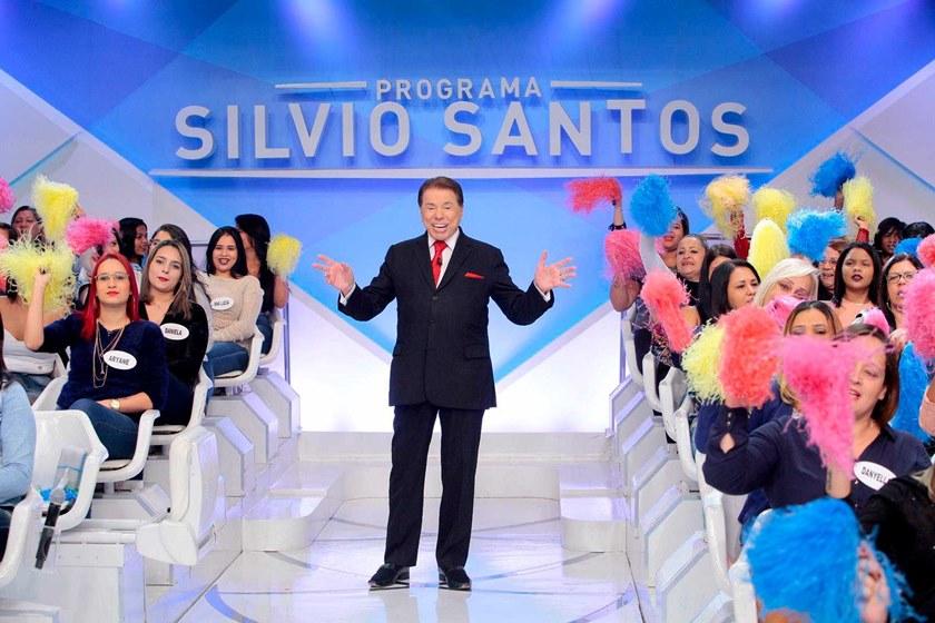silvio santos.jpg - Silvio Santos pede cena romântica a crianças e causa polêmica na web