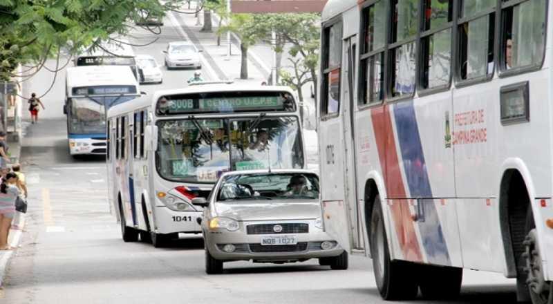 t 1 2 - Campina Grande terá ônibus circulando neste domingo