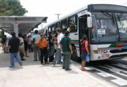Frota de ônibus em João Pessoa segue reduzida nesta quarta-feira, diz Sintur-JP