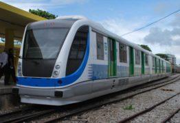 REGIÃO METROPOLITANA DE JOÃO PESSOA: Trens param no feriado do Dia do Trabalhador