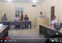 'Todo político rouba' dispara Vereador de Baía da Traição – VEJA VÍDEO