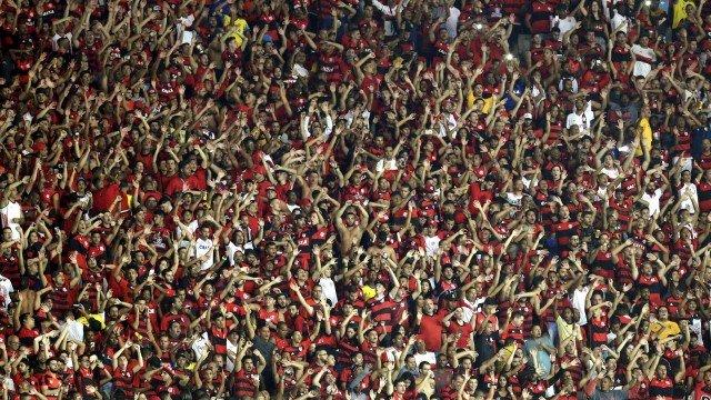 x76797434 es rio de janeiro rj 16052018taca libertadores da america 2018flamengo x emel.jpg.pagespeed.ic .XKtsw3Rh9B - Torcida do Flamengo provoca o Vasco após classificação na Libertadores - VEJA VÍDEO