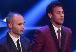 'O Barcelona não deve enlouquecer se Neymar for para o Real', diz Iniesta