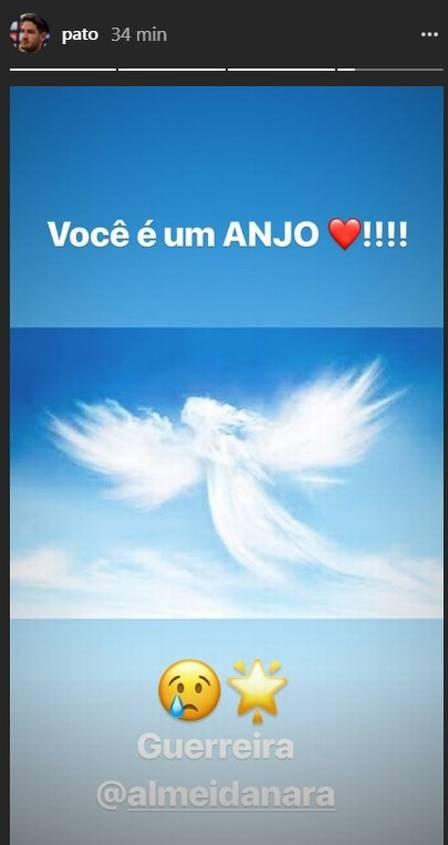 xpato.jpg.pagespeed.ic .yTofDbzwTI - Alexandre Pato presta homenagem para Nara Almeida